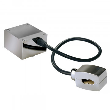 Подвод питания для гибкой системы освещения SLV EASYTEC® II 185002, хром, металл