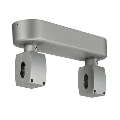 Потолочное основание для монтажа гибкого токопровода SLV EASYTEC® II, SHORTBOX 184012, серебро, металл