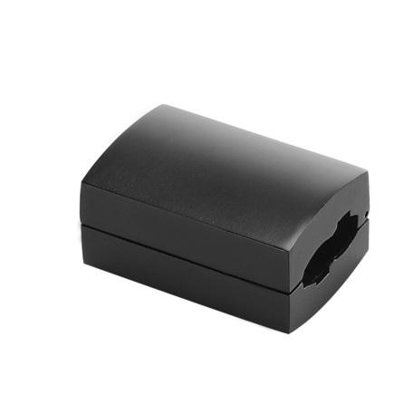 Прямой соединитель для гибкого токопровода SLV EASYTEC® II 184030, черный, металл