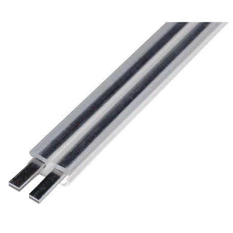 Рельсовый шинопровод SLV GLU-TRAX® 186015, прозрачный, металл с пластиком