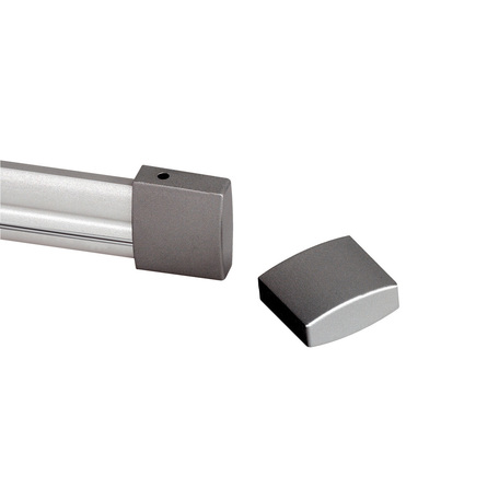 Гибкий токопровод в сборе с комплектующими SLV EASYTEC® II 184022, серебро, металл