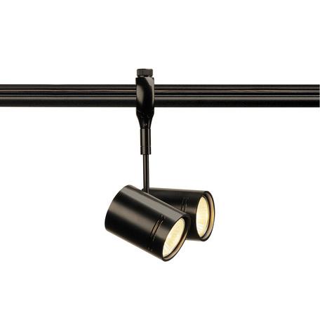 Светильник с регулировкой направления света для гибкой системы SLV EASYTEC II®, BIMA 184440, 2xGU10x50W, черный, металл