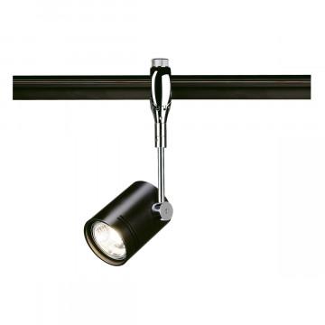 Светильник с регулировкой направления света для гибкой системы SLV EASYTEC II®, BIMA 185450, 1xGU10x50W, хром, черный, металл