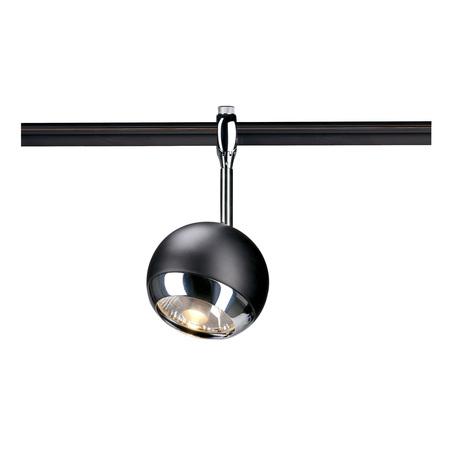 Светильник с регулировкой направления света для гибкой системы SLV EASYTEC II®, LIGHT EYE® 150 185580, 1xGU10x75W, черный