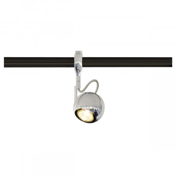 Светильник с регулировкой направления света для гибкой системы SLV EASYTEC II®, LIGHT EYE® 90 185692, 1xGU10x50W, хром