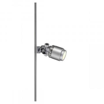 Светодиодный светильник для рельсовой шинной системы SLV GLU-TRAX®, POWER-LED SPOT 186042, LED 3000K, серый