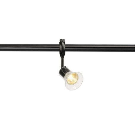 Светильник с регулировкой направления света для гибкой системы SLV EASYTEC® II, ANILA 184630, 1xGU10x50W, черный, прозрачный