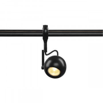 Светильник с регулировкой направления света для гибкой системы SLV EASYTEC II®, LIGHT EYE® 90 184690, 1xGU10x50W, черный