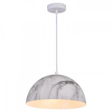 Подвесной светильник Lussole LGO Caldwell LSP-0179, IP21, 3xE14x40W, белый, серый, металл