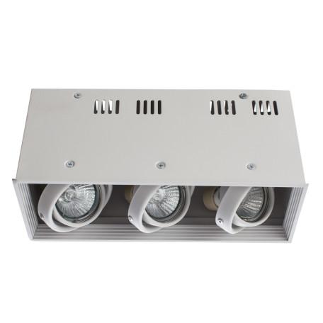 Потолочный светильник Arte Lamp Cardani Piccolo A5942PL-3WH, 3xGU10x50W, белый, металл - миниатюра 1