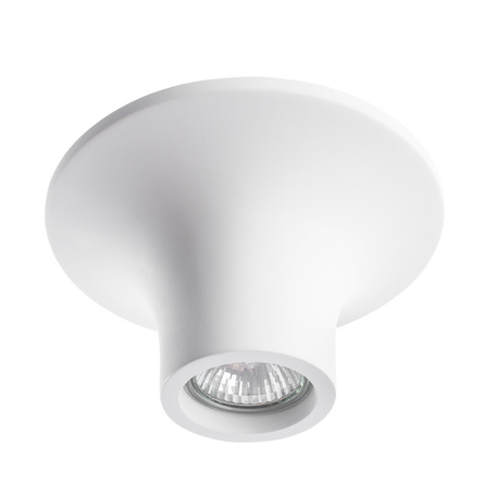 Потолочный светильник Arte Lamp Instyle Tubo A9460PL-1WH, 1xGU10x35W, белый, под покраску, гипс