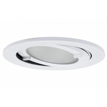 Мебельный светильник для встраиваемого или накладного монтажа Paulmann Micro Line 98569, IP44, 1xG4x20W, металл