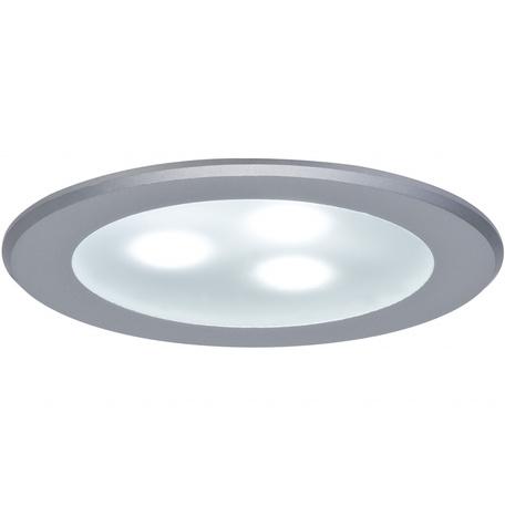 Встраиваемый мебельный светодиодный светильник Paulmann Micro Line HighPower LED 98351, LED 3W, матовый хром, металл