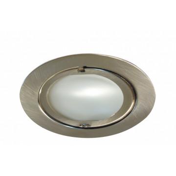Встраиваемый мебельный светильник Paulmann Furniture Klipp Klapp 98407, 1xG4x20W, матовый хром, металл