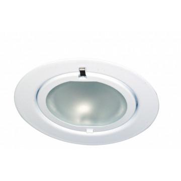 Встраиваемый мебельный светильник Paulmann Furniture Klipp Klapp 98466, 1xG4x20W, белый, металл