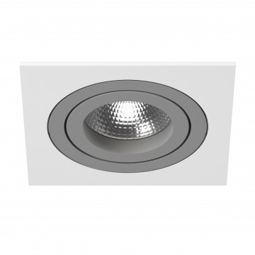 Встраиваемый светильник Lightstar Intero 16 i51609, 1xGU10x50W, серый, металл