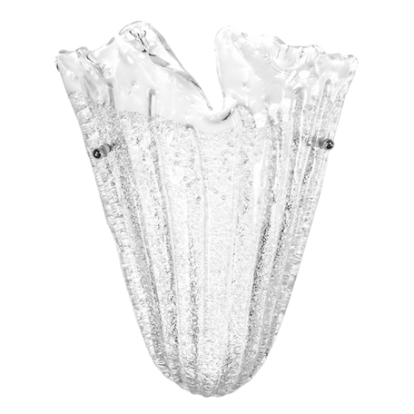 Бра Lightstar Murano 601610, 1xE14x40W, хром, белый, металл, стекло
