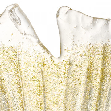 Бра Lightstar Murano 601613, 1xE14x40W, золото, янтарь, металл, стекло - миниатюра 2