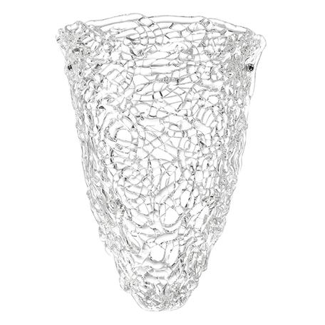 Бра Lightstar Murano 603620, 2xE14x40W, хром, белый, металл, стекло