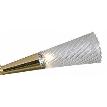 Бра Lightstar Aereo 711632, 2xG9x25W, золото, прозрачный, металл, стекло, хрусталь - миниатюра 2