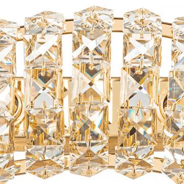 Бра Lightstar Onda 741622, 2xG9x40W, золото, прозрачный, металл, хрусталь - миниатюра 3
