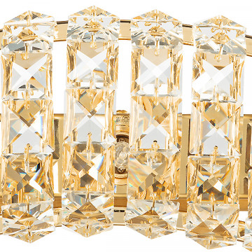 Бра Lightstar Onda 741632, 3xG9x40W, золото, прозрачный, металл, хрусталь - миниатюра 2