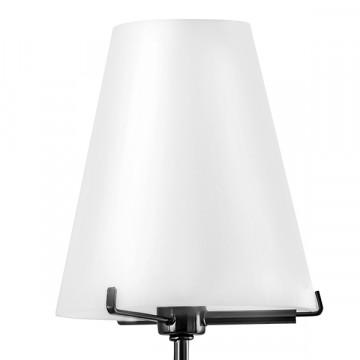 Бра Lightstar Diafano 758627, 2xG9x40W, черный хром, белый, металл, стекло - миниатюра 3