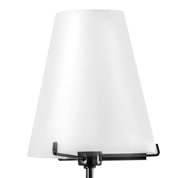 Бра Lightstar Diafano 758627, 2xG9x40W, черный хром, белый, металл, стекло - фото 3