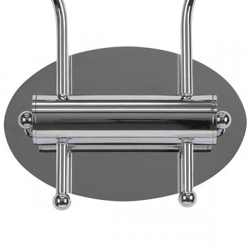 Бра Lightstar Pentola 803829, 2xG9x25W, хром, фиолетовый, металл, стекло - миниатюра 5