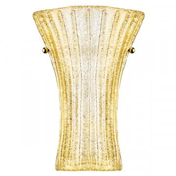 Бра Lightstar Zucche 820623, 2xG9x40W, золото, янтарь, металл, стекло
