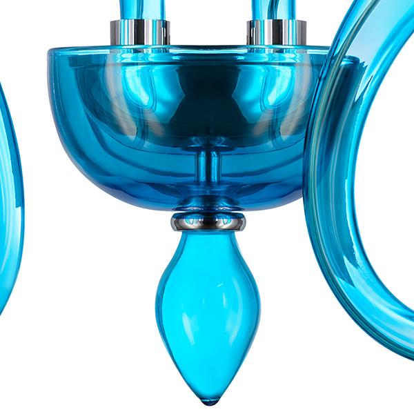 Бра Lightstar Stella 892621, 2xG9x6W, синий, стекло - фото 4