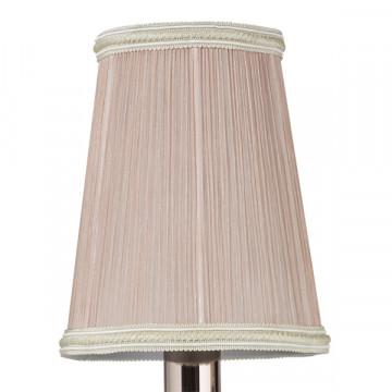 Бра Lightstar Osgona Cappa 691624, 2xE14x40W, хром, бежевый, прозрачный, металл, текстиль, хрусталь - миниатюра 5