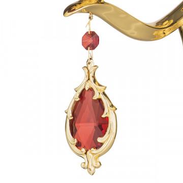 Бра Lightstar Osgona Melagro 695622, 2xE14x60W, золото, фиолетовый, красный, металл, стекло, хрусталь - миниатюра 4
