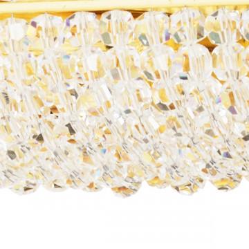 Бра Lightstar Osgona Monile 704642, 4xE14x40W, золото, прозрачный, металл, хрусталь - миниатюра 3