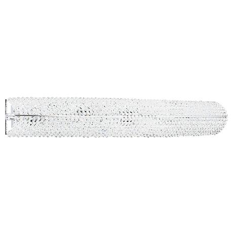 Бра Lightstar Osgona Monile 704654, 5xE14x40W, хром, прозрачный, металл, хрусталь