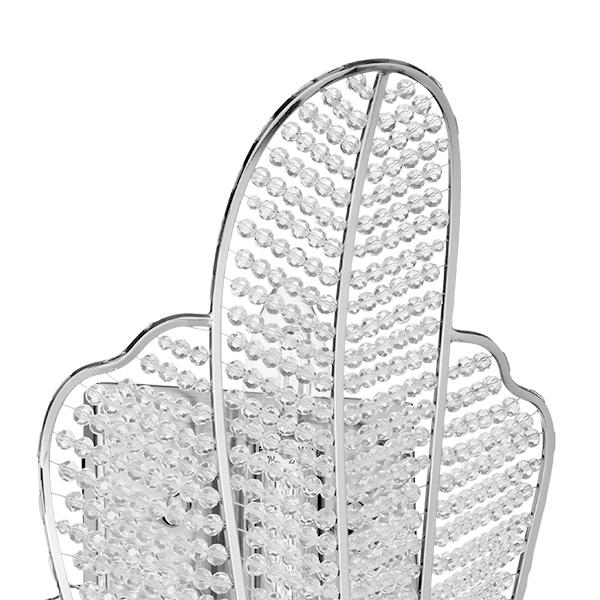 Бра Lightstar Osgona Riccio 705634, 3xE14x60W, хром, прозрачный, металл, хрусталь - фото 2