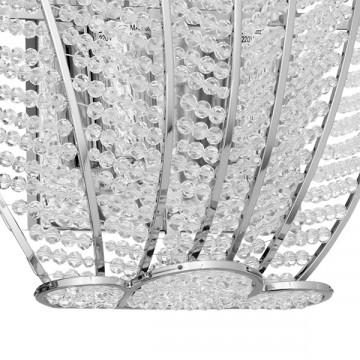 Бра Lightstar Osgona Riccio 705634, 3xE14x60W, хром, прозрачный, металл, хрусталь - миниатюра 3