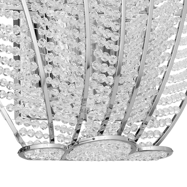 Бра Lightstar Osgona Riccio 705634, 3xE14x60W, хром, прозрачный, металл, хрусталь - фото 3