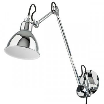 Бра с регулировкой направления света Lightstar Loft 765614, 1xE14x40W, хром, металл