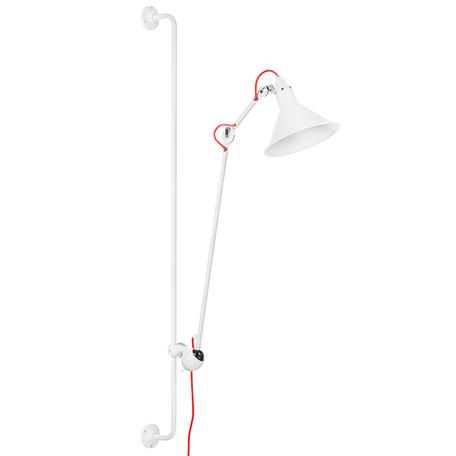Бра с регулировкой направления света Lightstar Loft 765626, 1xE14x40W, белый, красный, металл