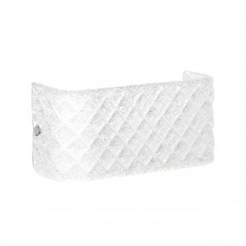 Бра Lightstar Murano 602520, 2xE14x40W, хром, белый, металл, стекло
