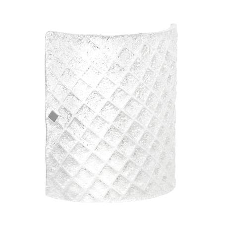 Настенный светильник Lightstar Murano 602620, 2xE14x40W, хром, белый, металл, стекло