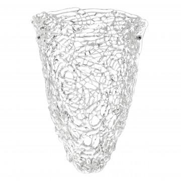 Настенный светильник Lightstar Murano 603620, 2xE14x40W, хром, прозрачный, металл, стекло