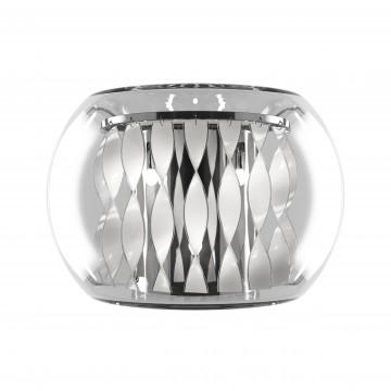 Настенный светильник Lightstar Acquario 752634, 3xG4x20W, хром, прозрачный, металл, стекло, хрусталь