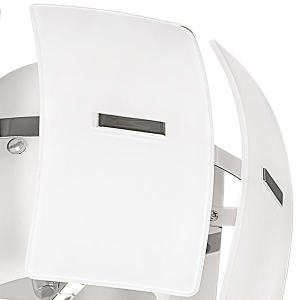 Настенный светильник Lightstar Lamella 801616, 1xE14x40W, хром, белый, металл, стекло - фото 2