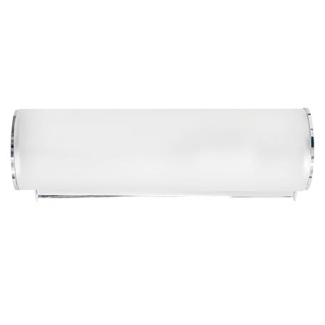 Настенный светильник Lightstar Blanda 801810, 1xE14x40W, хром, белый, металл, стекло