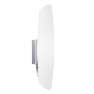 Настенный светильник Lightstar Dissimo 803600, 1xE14x40W, хром, белый, металл, стекло