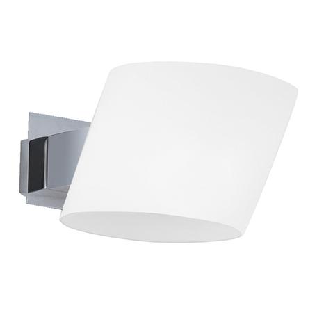Настенный светильник Lightstar Dissimo 803610, 1xG9x40W, хром, белый, металл, стекло
