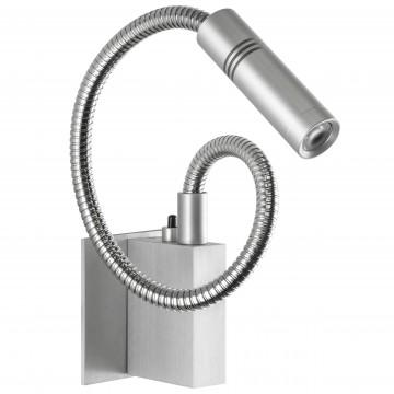 Настенный светодиодный светильник Lightstar Muro 808619, 3000K (теплый), алюминий, металл