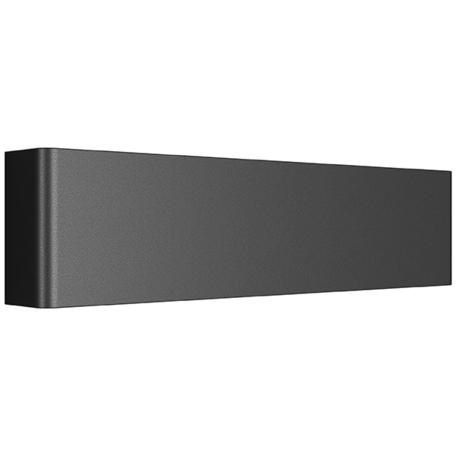 Настенный светодиодный светильник Lightstar Fiume 810617, LED 10W 4000K 950lm, черный, металл